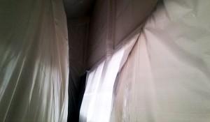 Les étapes du désamiantage : le confinement - © Desamiantis